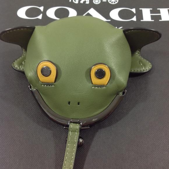 1573e5a956e7 Coach Frog Coin Purse